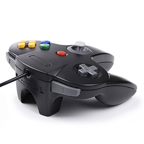 2 pack controlador classic n64, innext n64 wired usb pc game
