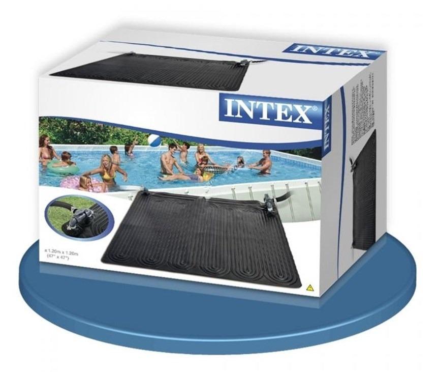 2 pack de tapete calentador solar de alberca intex pvc 1