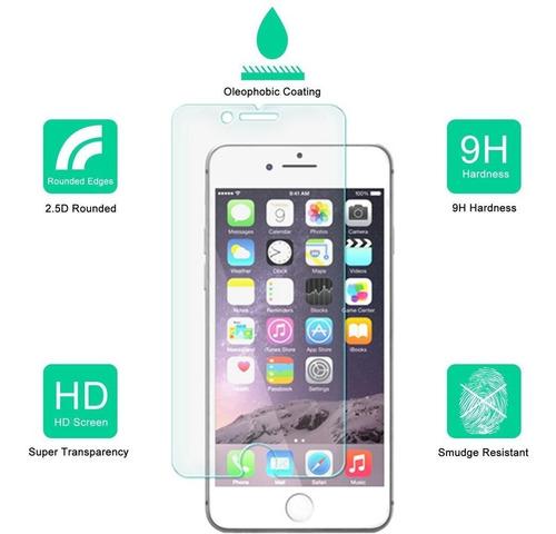 2-pack dmax armadura para el iphone 8 / iphone protector de