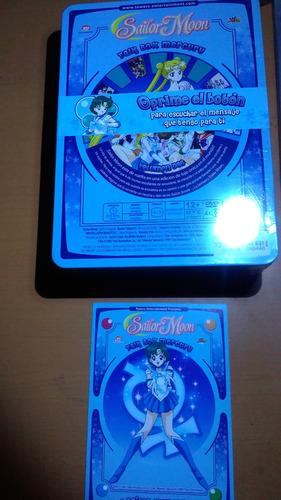 2 pack dvd talk box sailor moon y mercury español latino