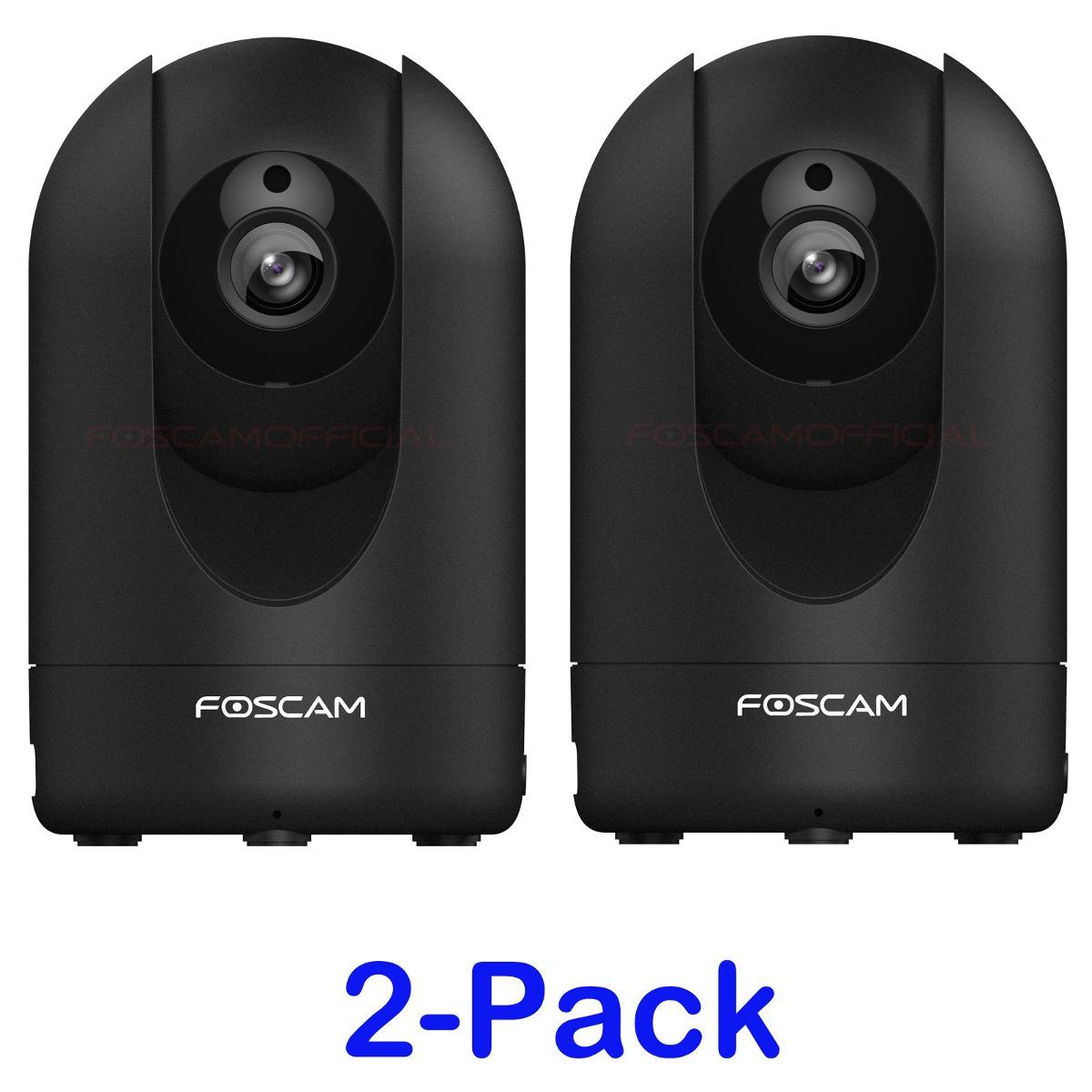 5-Pack Foscam 1080P 2.0MP R2 PTZ Wireless Wired Security Surveillance IP Cameras