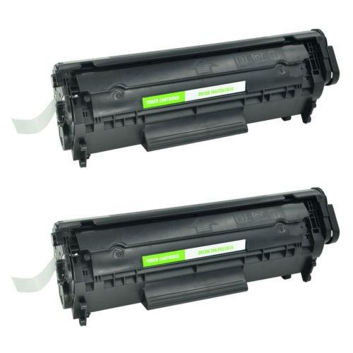 2 pack fx9 fx10 toner cartucho negro para imageclass de cano