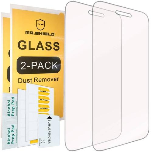[2-pack] -mr shield para alcatel onetouch pix + envio gratis