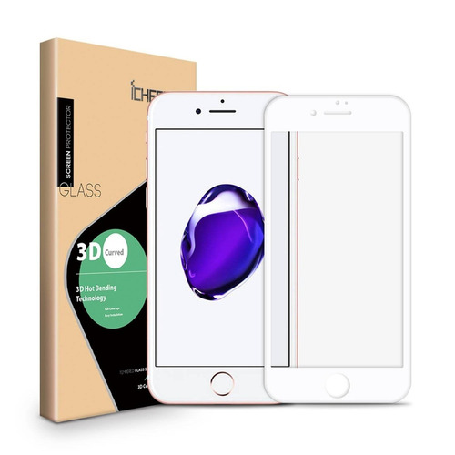 2-pack protector de pantalla para iphone 7, i + envio gratis