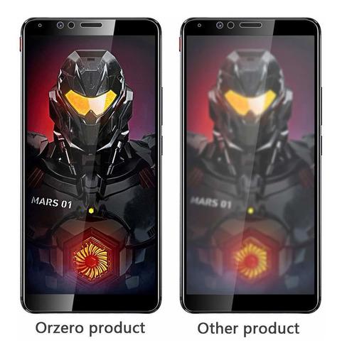 2 pack screen orzero vidrio templado protector f compatible
