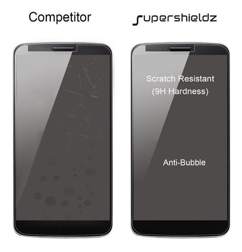2 pack supershieldz para motorola g7 moto plus templado g