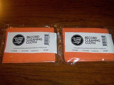 2 paños para limpieza de vinilos