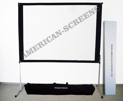 2 pantallas de proyeccion tl140  300 x 200 cm envios gratis!