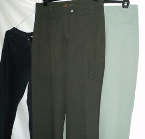 43165c062e3 2 Pantalon Vestir Mujer Poliester Y Jogging Talle 2 En Lote