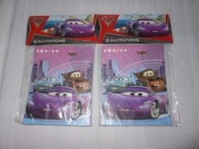 2 Paquetes De Invitaciones Cars