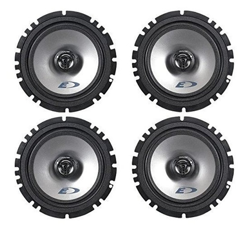 (2) pares alpine sxe-1725s 6.5 '' 80 watt rms 4 ohm 2-way al