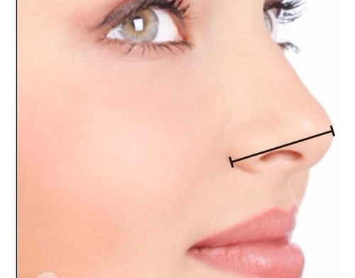 2 pares corrector nasal rulav respingador nariz bella