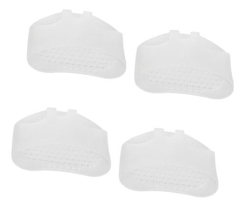 2 pares de almohadillas metatarsianas de gel de sílice