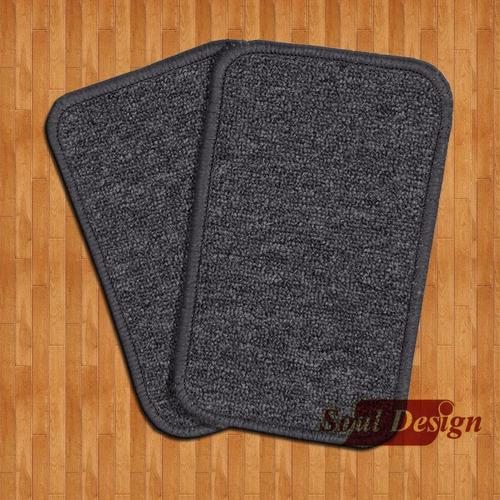 2 pares de patines de alfombra para piso 12 x 30 cm soul