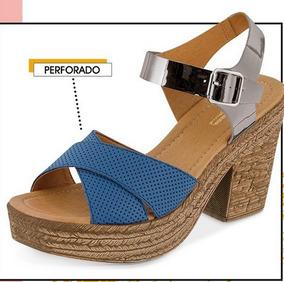 6c2ab6d3 Sandalias de Mujer Cklass Azul en Estado De México en Mercado Libre ...
