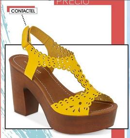 0dd3bb09 Sandalia Cklass - Zapatos Amarillo en Mercado Libre México