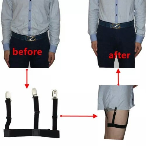 Sujetadores para camisa