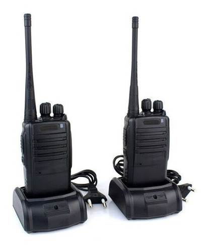 2 pares radio comunicador ht baofeng walktalk talkabout 777s