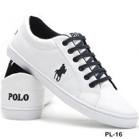 5d27faa5d9 Tenis Polo Masculino Branco - Calçados