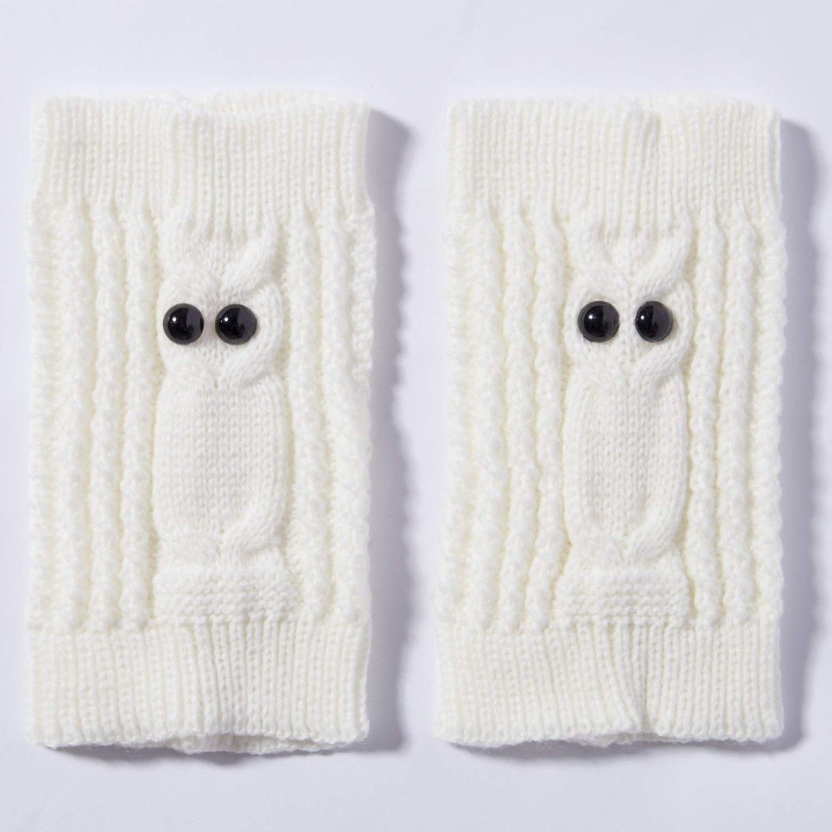 2 Pares Womens Winter Crochet Knitted Boot Cuffs Toppers ...