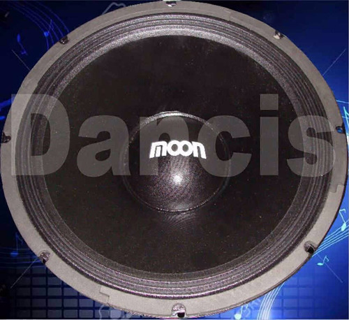 2 parlantes woofer moon 15 pulgadas 400 watts by dancis
