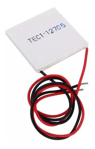 2 pastilha peltier pastilha tec1-12705 +1 pasta térmica 10gr