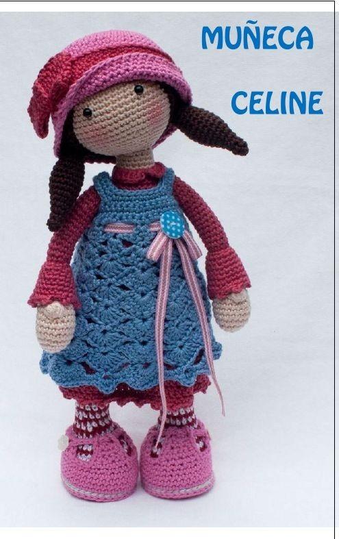 2 Patrones Muñeca Amigurumis Para Tejer Crochet - $ 40,00 en Mercado ...
