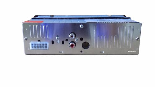 2 pç aparelho mp3 carro som rádio auxiliar c/controle usb sd