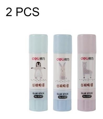 2 pcs material solido pegamento viscosidad barra pvp color