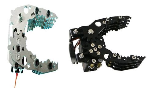 2 peça g6 metal robotic robô garra mecânico para arduino
