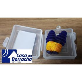 2 Peças Protetor Auricular Silicone 5 Membranas C/ Cordão