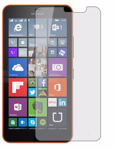 2° películas vidro temperado microsoft nokia lumia 640xl