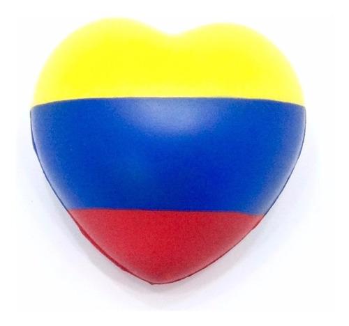 2 pelotas anti estrés bandera venezuela corazon terapia