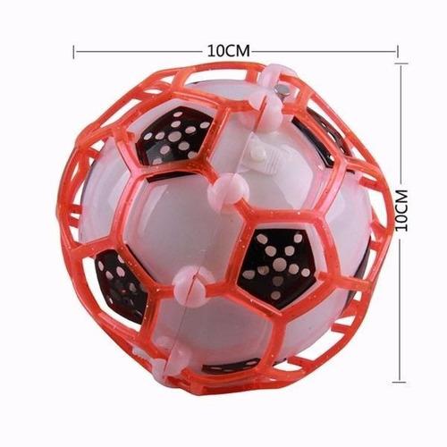 2 pelotas saltarinas, brinca y brinca con luces y sonidos
