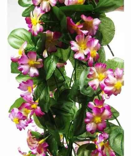 2 pendentes de flores artificiais - trepadeiras artificial
