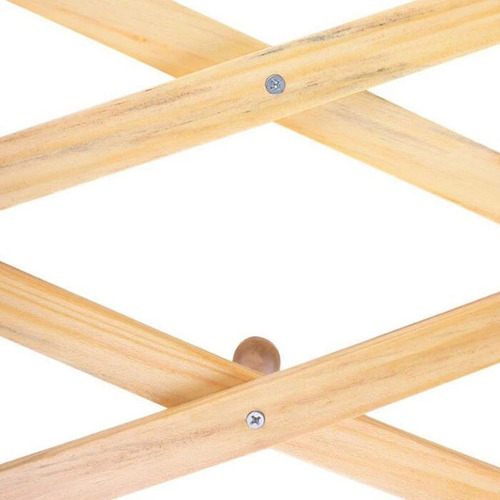 2 percheros de madera para pared plegable