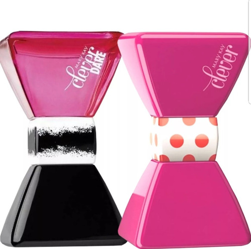 2 perfumes clever dare e clever mary kay **oferta**