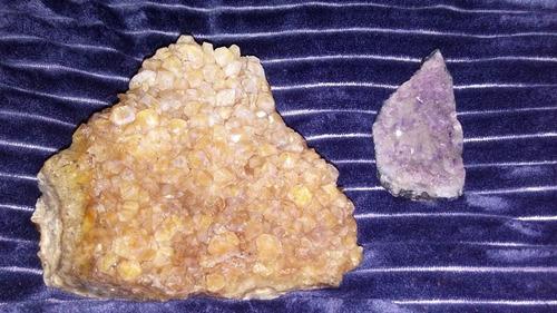 2 piedras preciosas amatistas grandes!! envio gratis ***