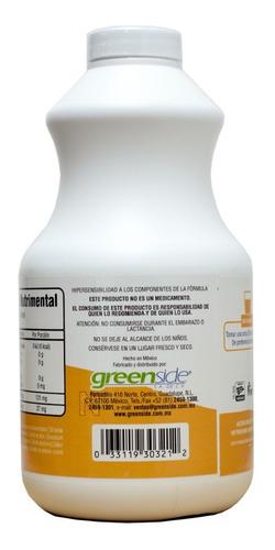 (2 piezas) 3x3 vitamina c 1 litro greenside