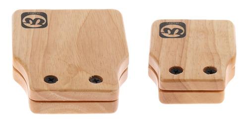 2 piezas castañuelas cajon box de drum complemento para