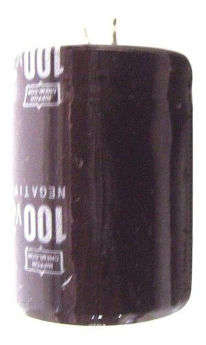 2 piezas de condensadores electrolíticos 100v 3300uf volumen