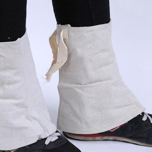 2 piezas de soldadura zapatos protectores accesorio
