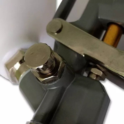 2 pistola pintura gravidade 600ml stels