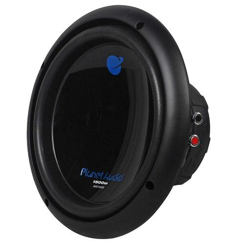 2) planet audio ac10d 10  3000w estéreo dual 4ohm bobina de