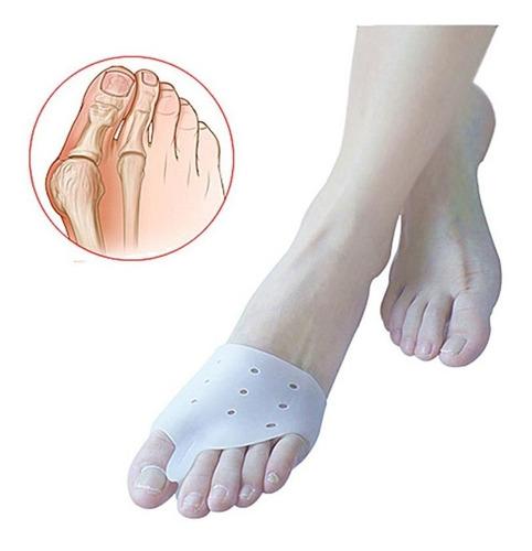 2 plantilla corrector juanete par gel silicona ortopedic mnr