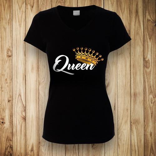 1965980c35b41 2 Playeras Para Parejas Novios King   Queen