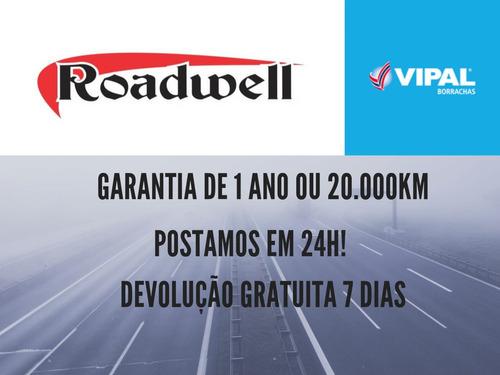 2 pneu 265/75r16 remold roadwell bf 116/112n inmetro 1 linha