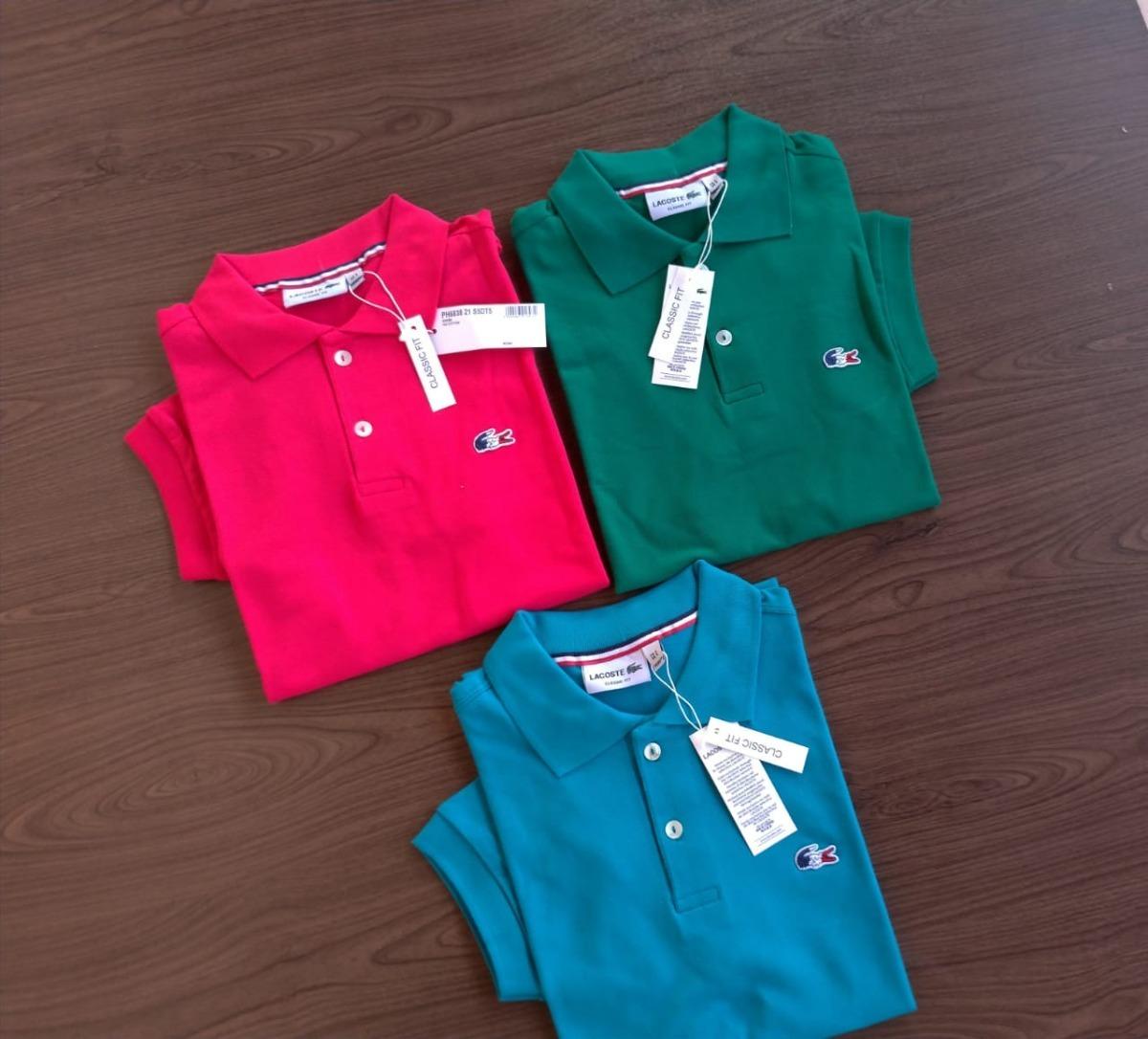 2 Polo Bordado França Importadas Peruanas Frete Gratis - R  139 abe5ea7073c0c