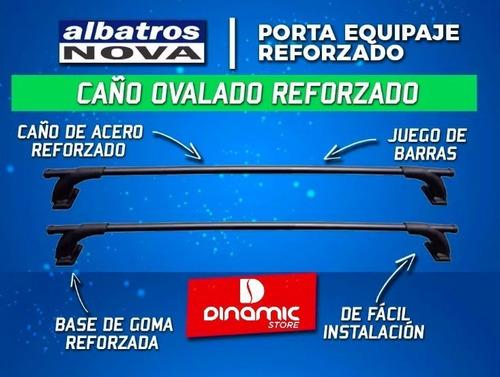 2 portabicicleta auto+portaequipaje albatros  vento cuotas