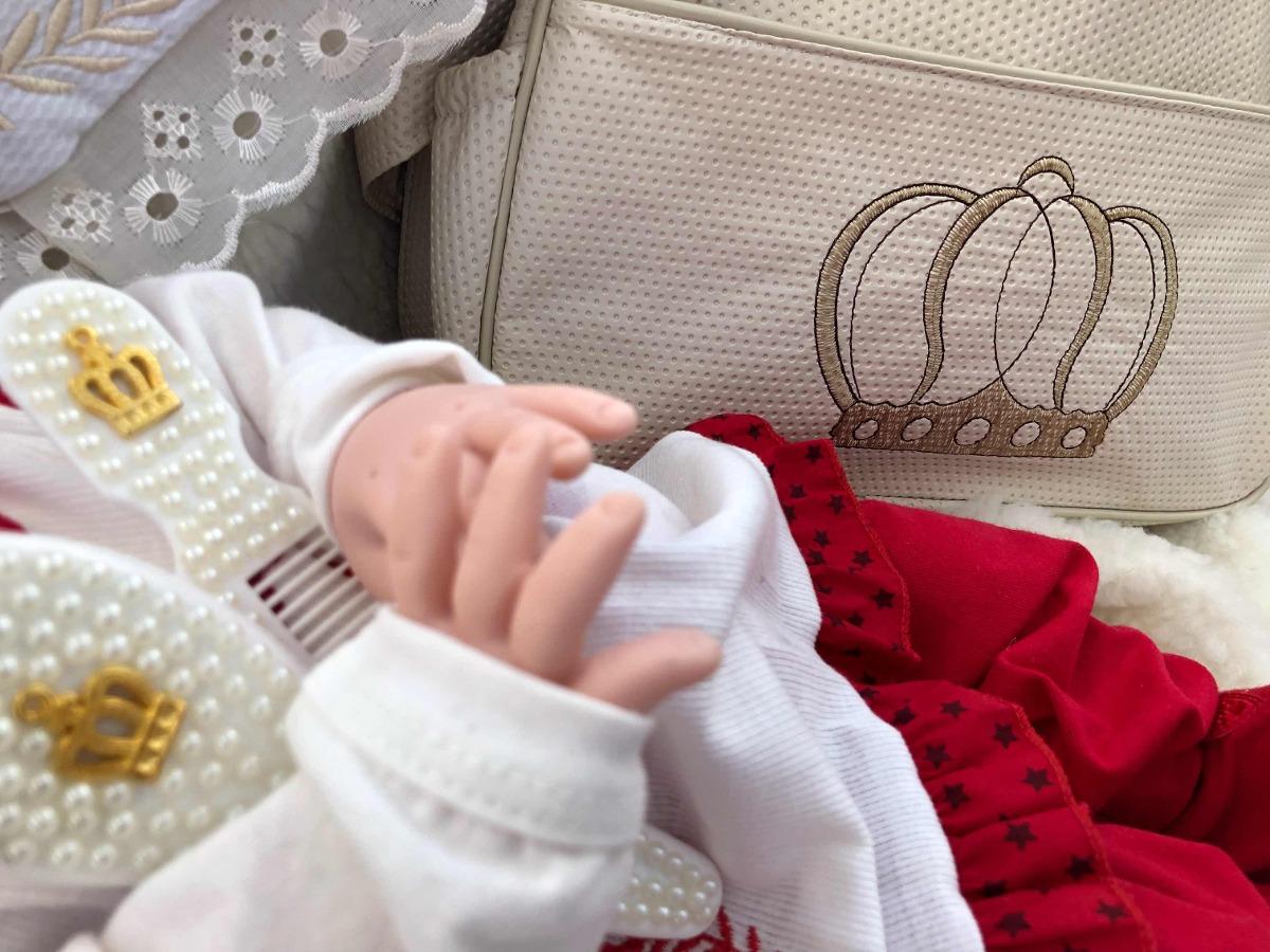 2 Princesa Bebê Reborn Menina 53cm Chupeta Mamadeira Fraldas - R ... ae2011c28ca